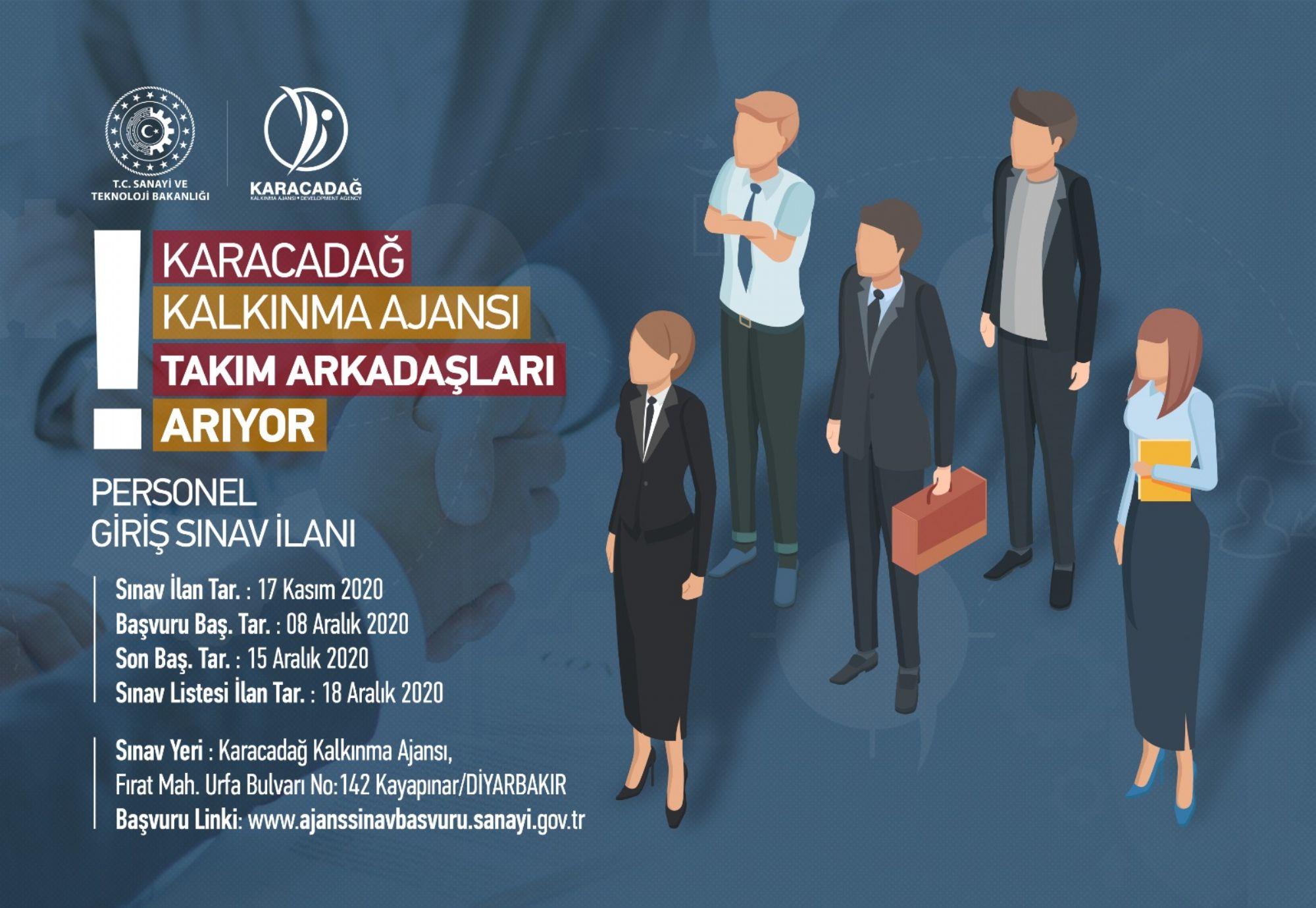 Karacadağ Kalkınma Ajansı Olarak Yeni Çalışma Arkadaşları Arıyoruz!