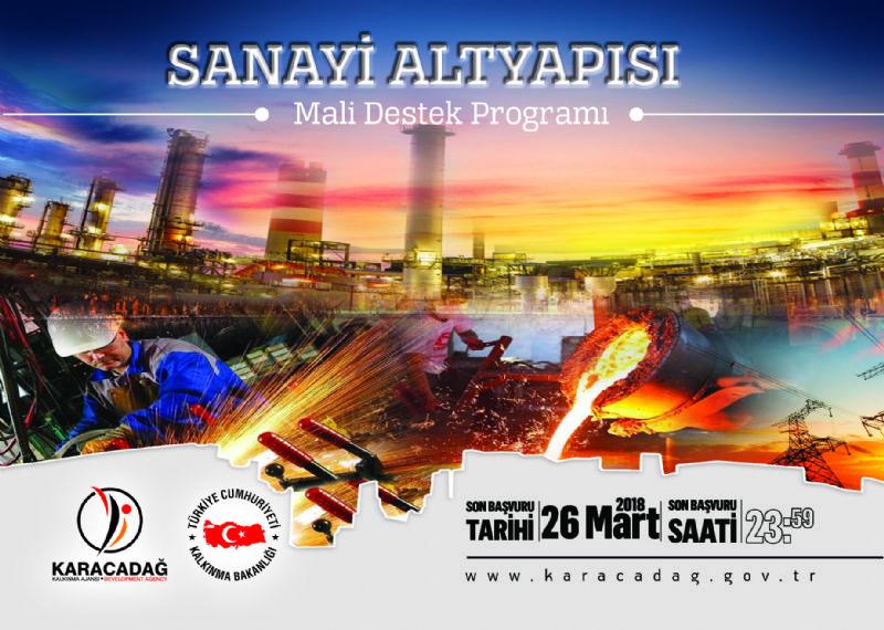 2018 Yılı Sanayi Altyapısı Mali Destek Programı