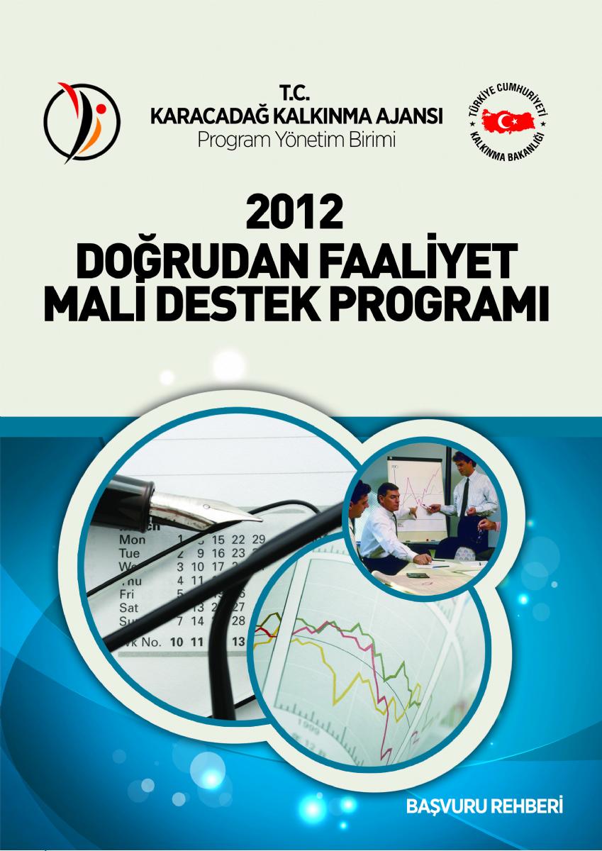 2012 Yılı Doğrudan Faaliyet Mali Destek Programı