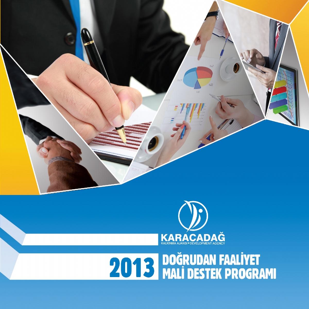 2013 Yılı Doğrudan Faaliyet Mali Destek Programı