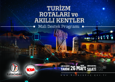 2018 Yılı Turizm Rotaları ve Akıllı Kentler Mali Destek Programı