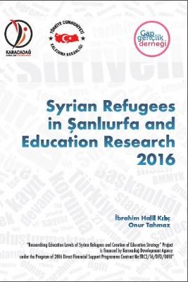 Syrian Refugees İn Şanlıurfa And Education 2016