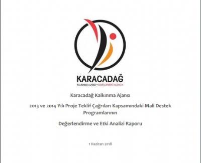 2013-2014 Yılı Mali Destek Programları Etki Analizi Raporu