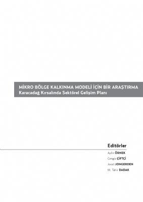 Mikro Bölge Kalkınma Modeli (Karacadağ Alt Bölgesi)