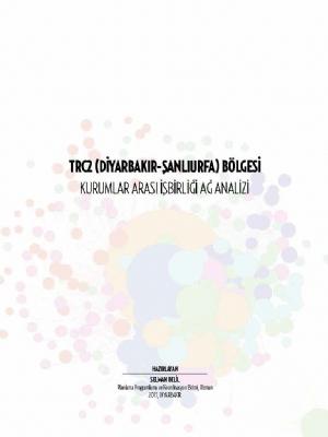 TRC2 Bölgesi Kurumsal Arası İşbirliği Ağ Analizi
