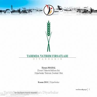 Tarımda Yatırım Fırsatları
