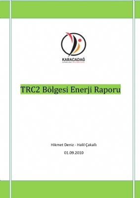 TRC2 Bölgesi Enerji Raporu