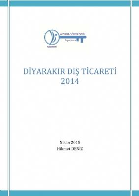 Diyarbakır Dış Ticareti 2014