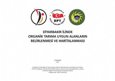 Diyarbakır İlinde Organik Tarıma Uygun Alanların Belirlenmesi ve Haritalanması