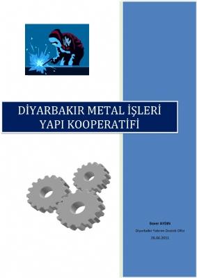 Diyarbakır Metal İşleri Yapı Kooperatifi Raporu