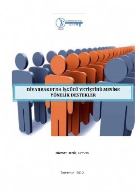 Diyarbakır'da İşgücü Yetiştirmeye Yönelik Destekler