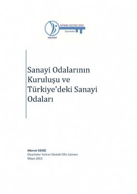 Sanayi Odalarının Kuruluşu ve Türkiye'deki Sanayi Odaları