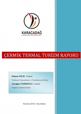 Çermik Termal Turizm Raporu