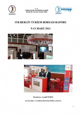 2011 ITB Berlin Turizm Borsası Raporu