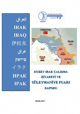 K.Irak Çalışma Ziyareti ve Süleymaniye Fuarı Raporu