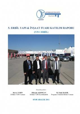Irak-Erbil Yapı ve İnşaat Fuar Raporu (Aralık 2011)