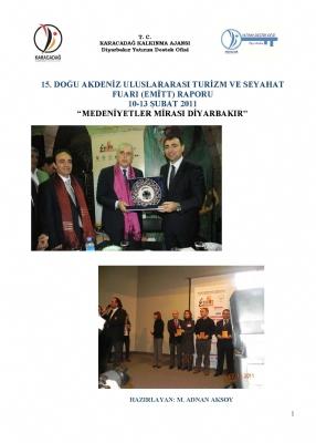 Diyarbakır 2011 EMITT Fuar Raporu