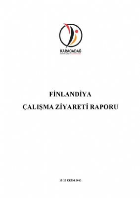 Finlandiya Çalışma Ziyareti Raporu