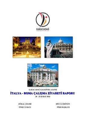 İtalya-Roma Çalışma Ziyareti Raporu