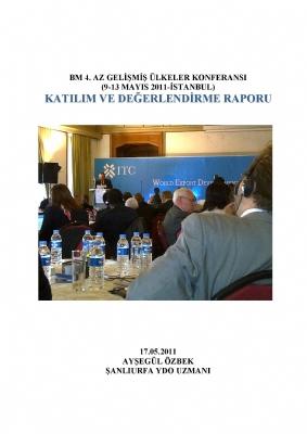 BM Azgelişmiş Ülkeler Konferansı Katılım Raporu