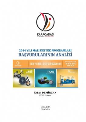 2014 Yılı MDP Başvurularının Analizi