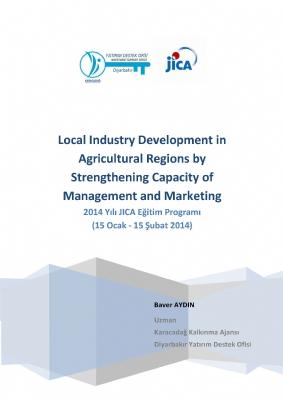 JICA Eğitimi (15 Ocak-15 Şubat 2014) Katılım Raporu