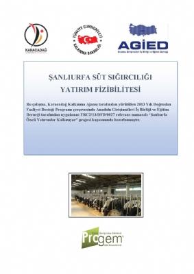 Süt Sığırcılığı Yatırım Fizibilitesi