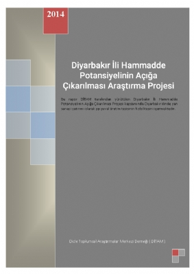 Diyarbakır İli Hammadde Potansiyelinin Açığa Çıkarılması Araştırma Projesi