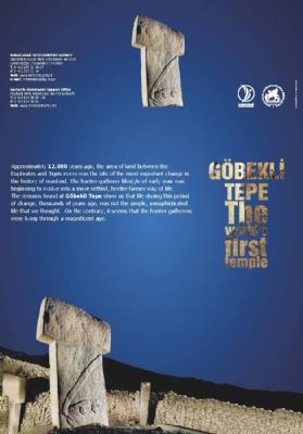 Göbeklitepe Dünyanın İlk Tapınağı Broşür
