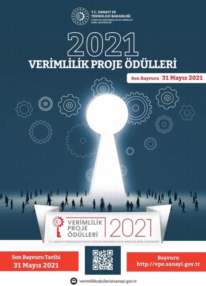 2021 Verimlilik Proje Ödülleri Başvuru Süresi Uzatıldı
