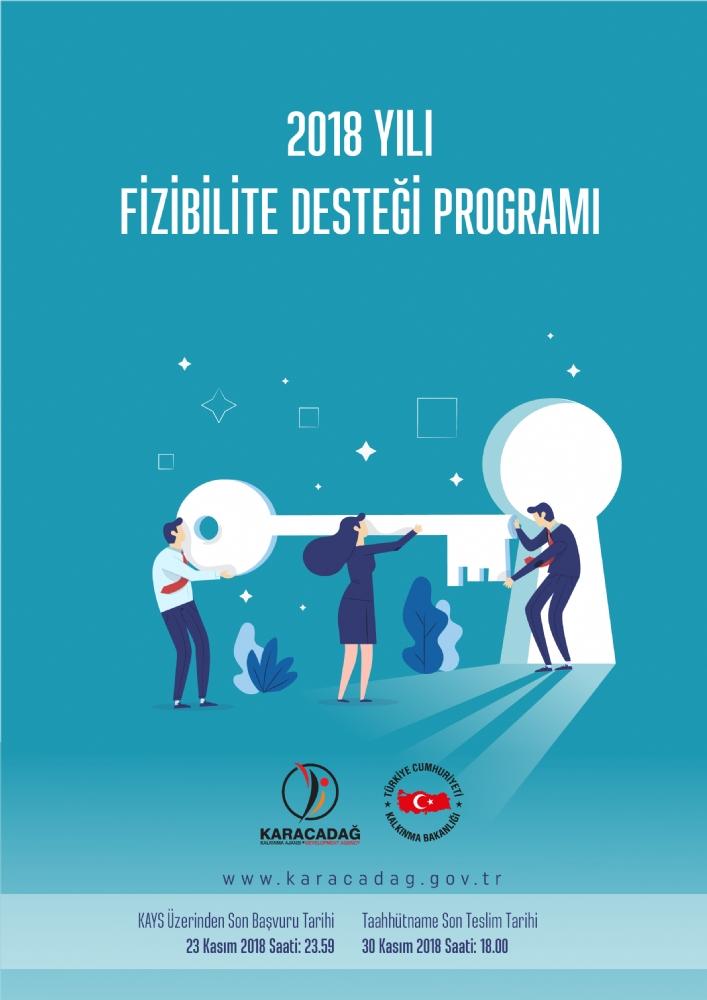 Ajansımız 2018 Yılı Fizibilite Desteği Programını İlan Etti