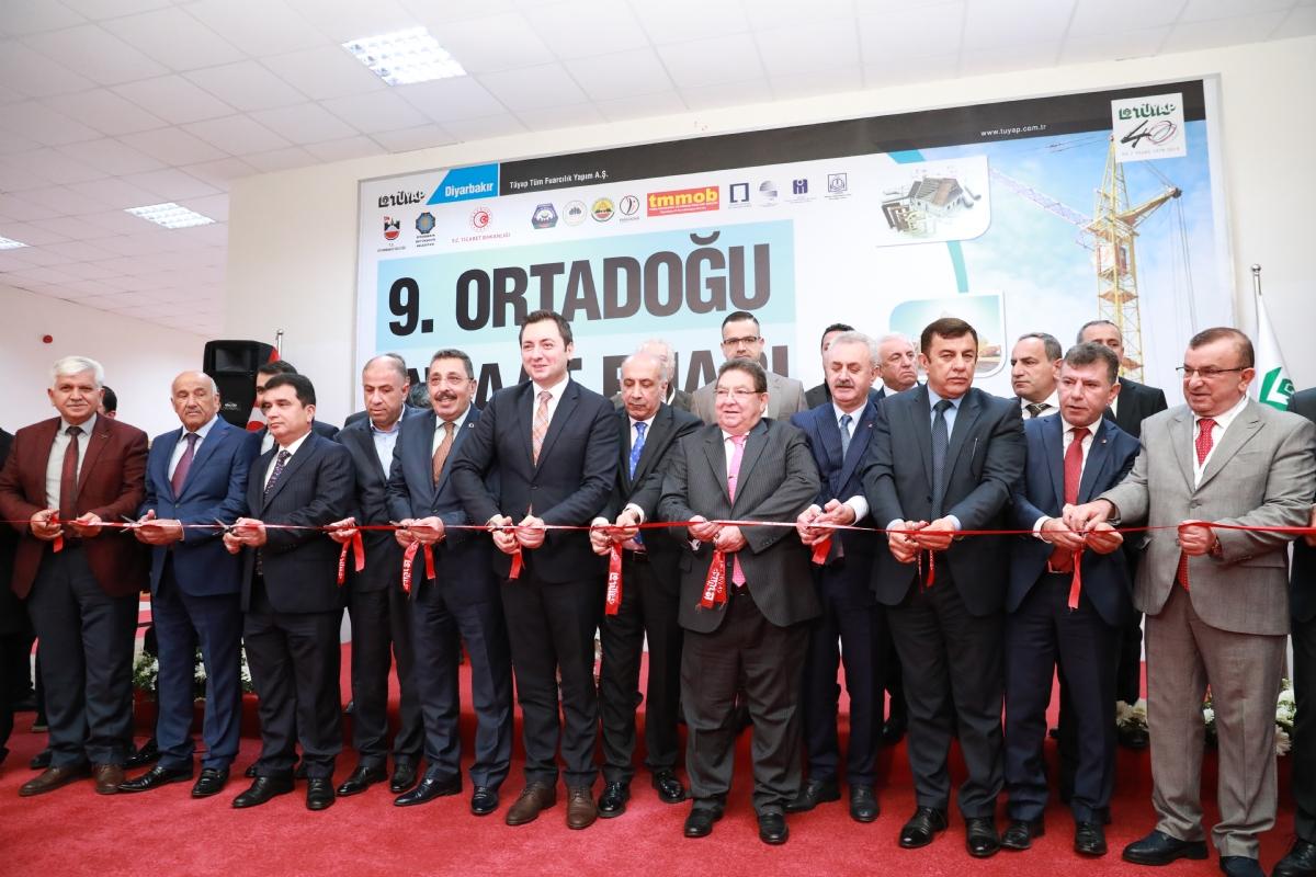 Yapı Sektörünün Bölgedeki Büyük Buluşması Ortadoğu İnşaat Fuarı, Diyarbakır'da Kapılarını Açıyor