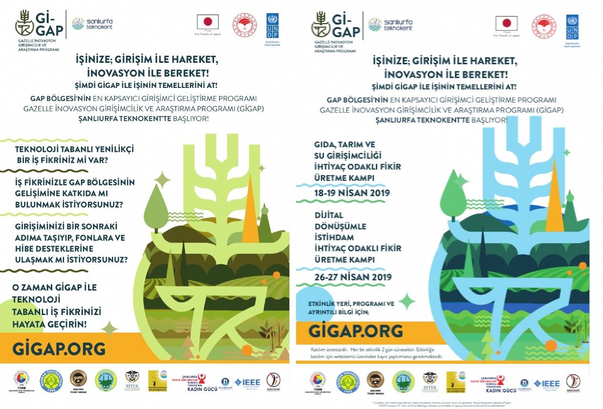 Gap Bölgesinin En Kapsayıcı Girişimci Geliştirme Programı Gazelle İnovasyon Girişimcilik ve Araştırma Programı (GİGAP) Şanlıurfa Teknokent'te Başlıyor!