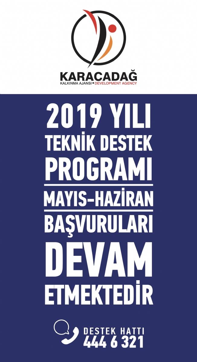 2019 Yılı Teknik Destek Programı Başvuruları Devam Ediyor