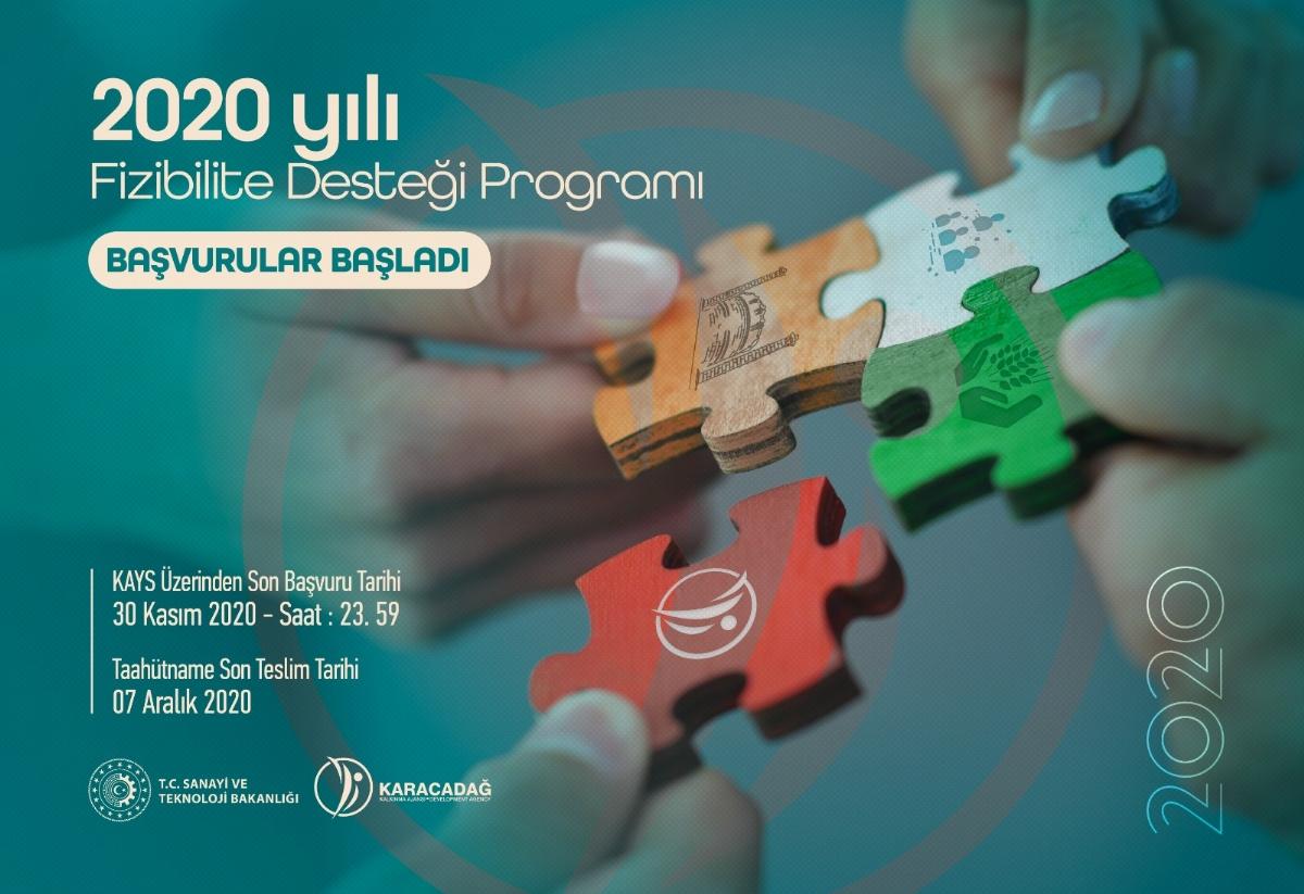 2020 Yılı Fizibilite Desteği Programı Başvuruları Başladı