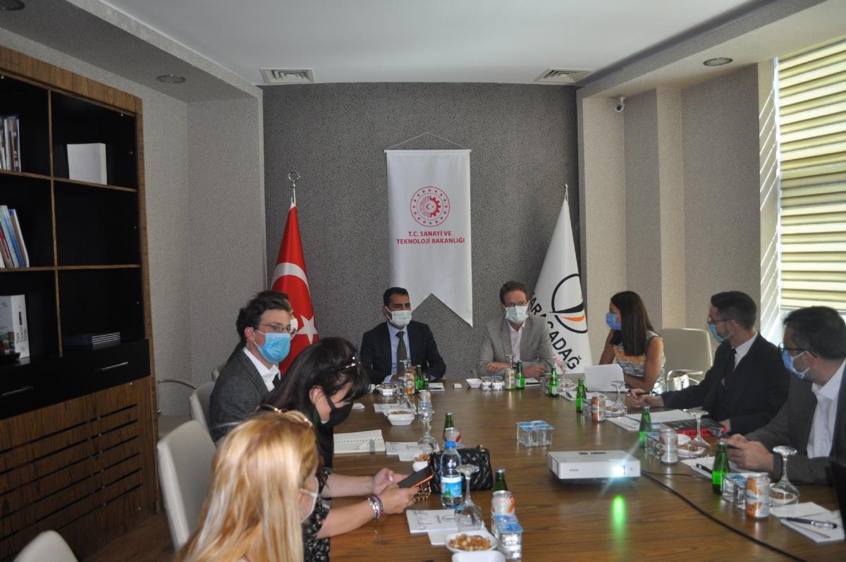 Ab Türkiye Delegasyonu Başkanı Meyer-landrut'tan Ajansımıza Ziyaret