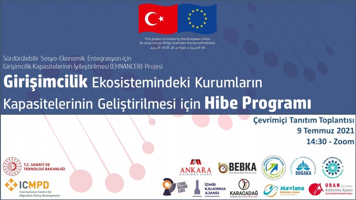 Girişimcilik Ekosistemindeki Kurumların Kapasitelerinin Geliştirilmesi İçin Hibe Programı