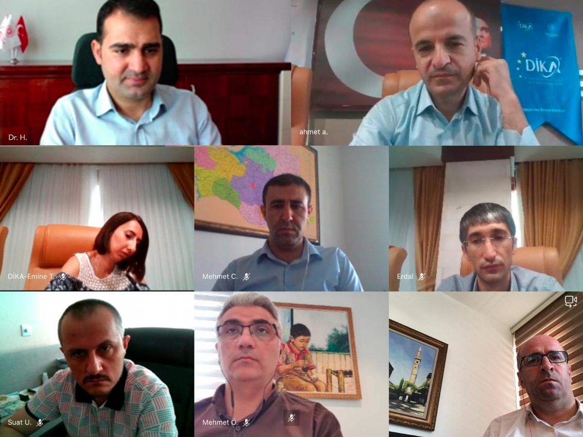 Karacadağ Kalkınma Ajansı ile Dicle Kalkınma Arasında İş Birliği Toplantısı