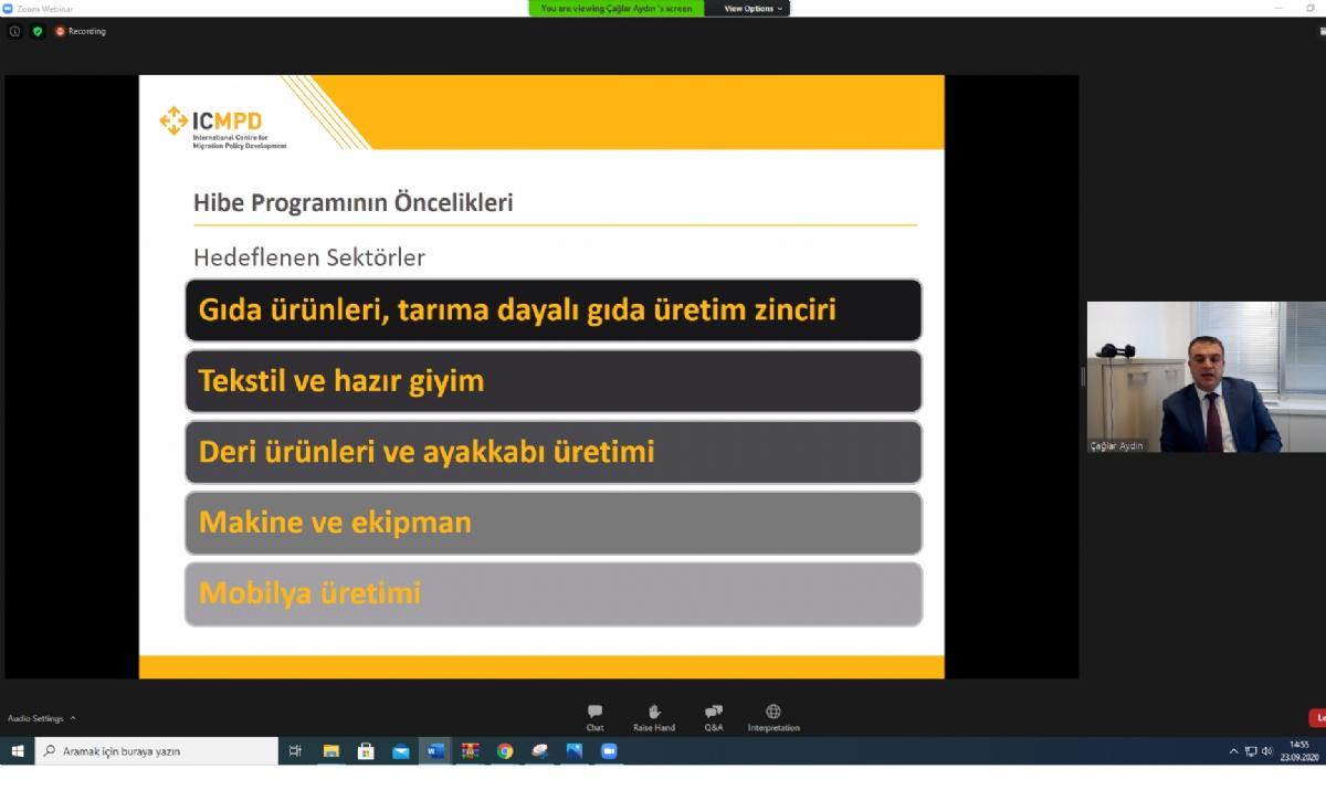 Ortak Kullanım Atölyeleri Tanıtım Toplantısı Online Olarak Gerçekleştirildi