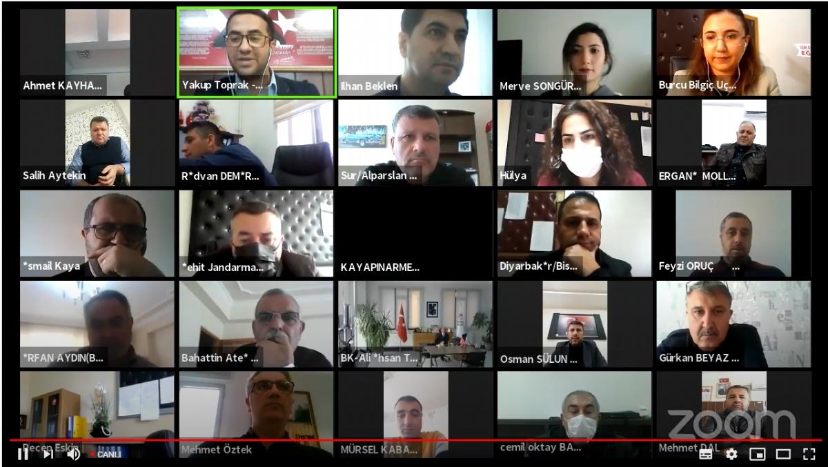 STEM ve Tasarım Beceri Atölyelerine Yönelik Online Çalıştay Gerçekleştirildi