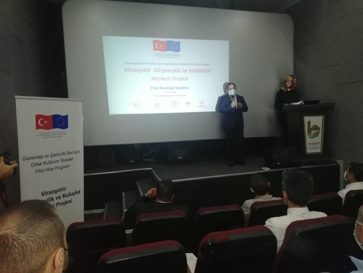 Viranşehir Girişimcilik ve Kuluçka Merkezi Projesi Başlangıç ve Tanıtım Toplantısı Yapıldı
