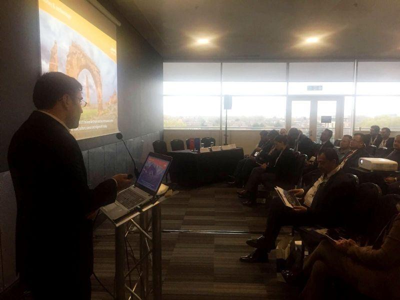 Şanlıurfa'da Tarih Yeniden Canlanıyor Projesi Londra'da Görücüye Çıktı