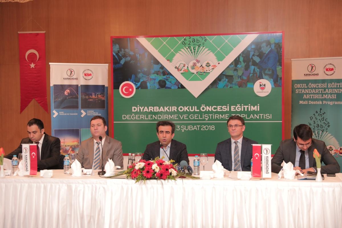Diyarbakır'ın Okul Öncesi Eğitimi Masaya Yatırıldı
