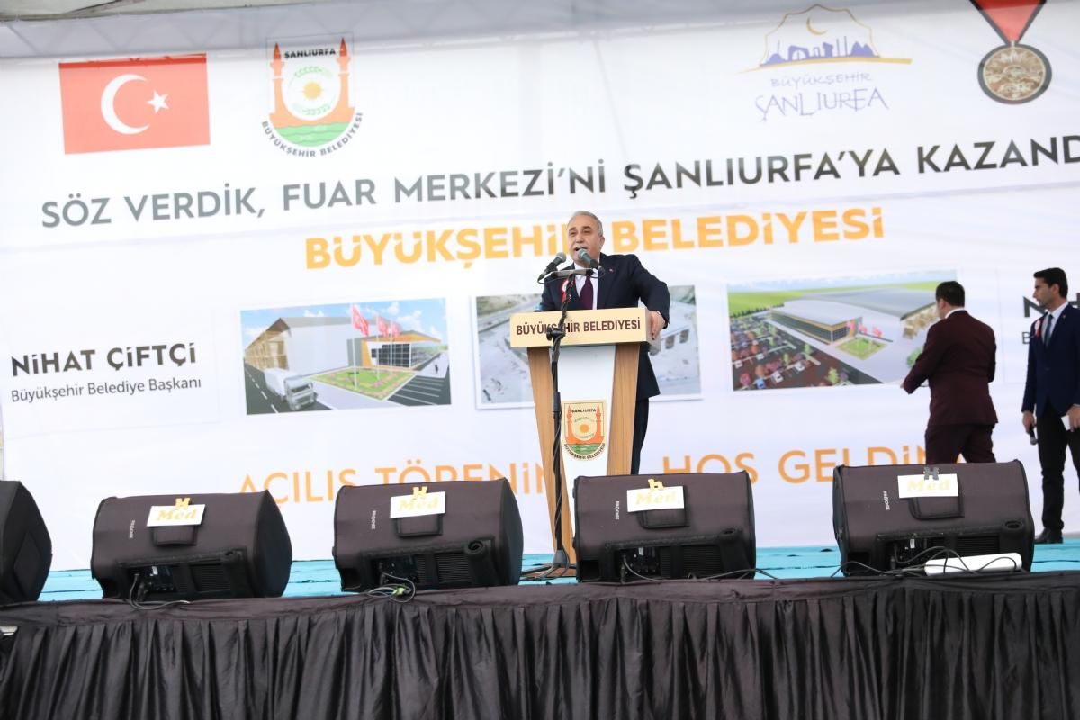 Şanlıurfa Fuar Merkezi Hizmete Açıldı