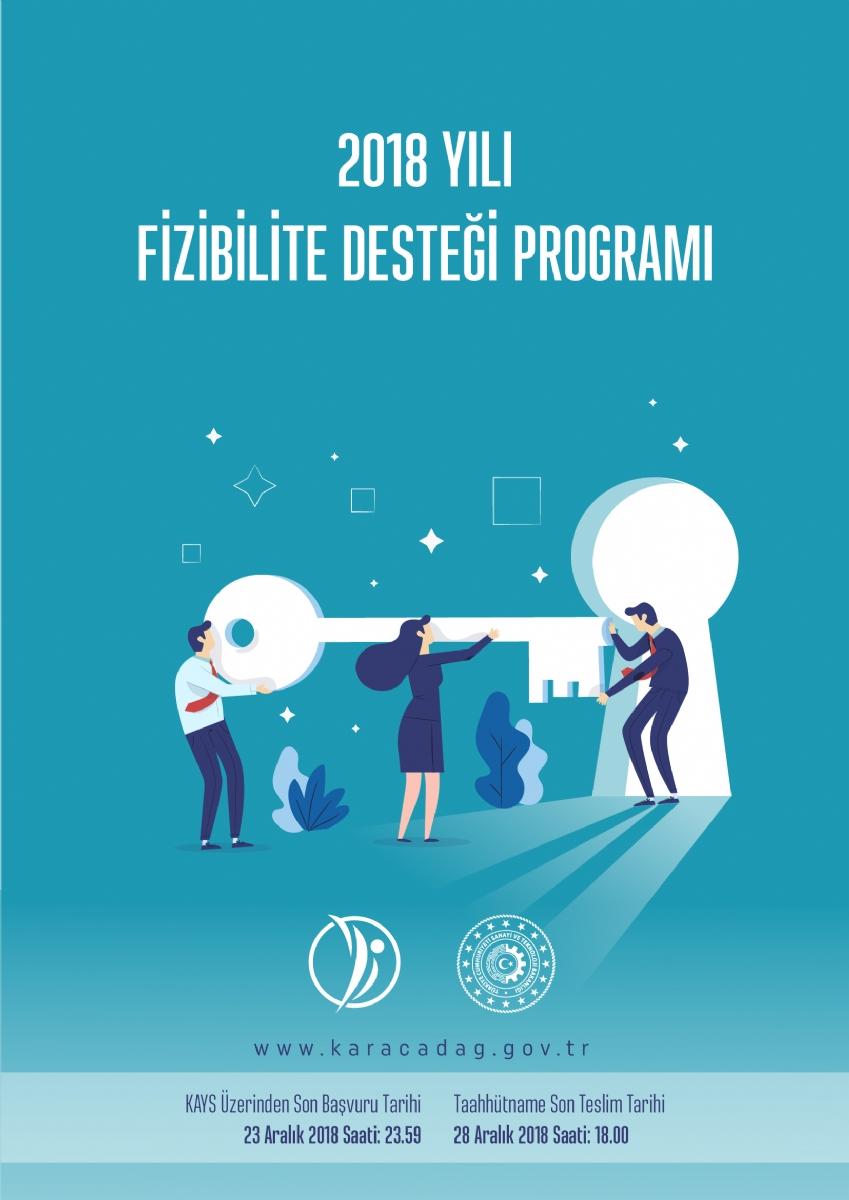 Ajansımız 2018 Yılı Fizibilite Desteği Programı Aralık Ayında da Proje Başvurularını Almaya Devam Edecek
