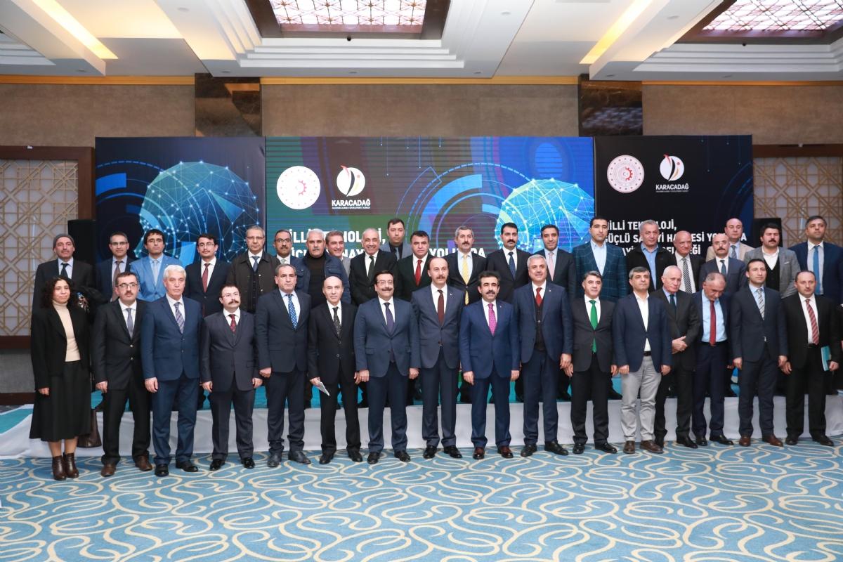 Ajans Yönetim Kurulu Milli Teknoloji ve Güçlü Sanayi Hamlesi Gündemi ile Toplandı