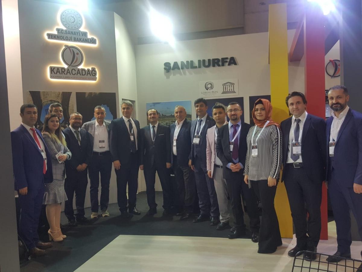 Diyarbakır ve Şanlıurfa'nın Sağlık ve Alternatif Turizm Potansiyeli Hestourex Fuarında Tanıtıldı