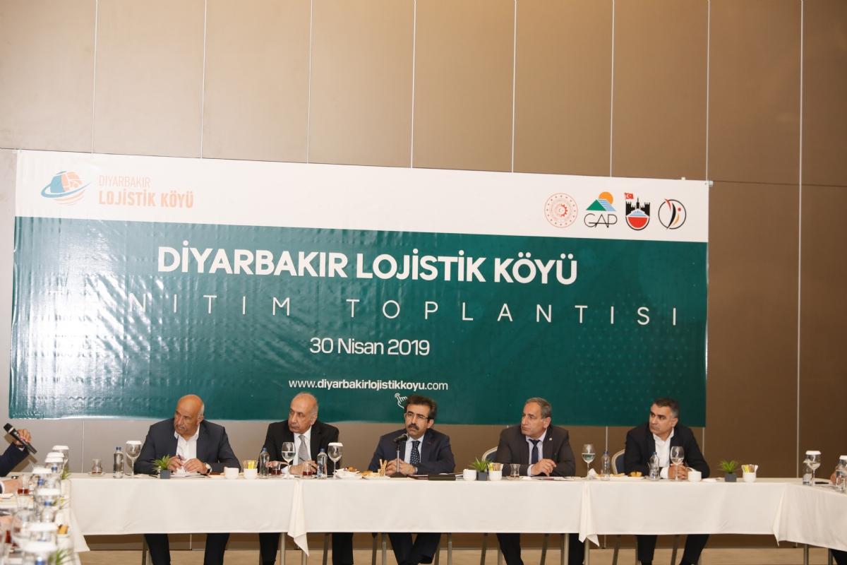 Diyarbakır Lojistik Köy, 5 Bin 400 Kişiye İstihdam Sağlayacak