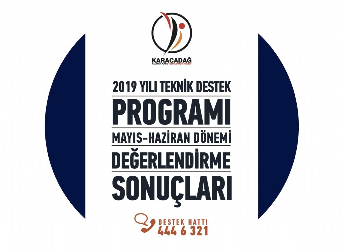 2019 Yılı Teknik Destek Programı Mayıs-Haziran Dönemi Sonuçları Açıklandı