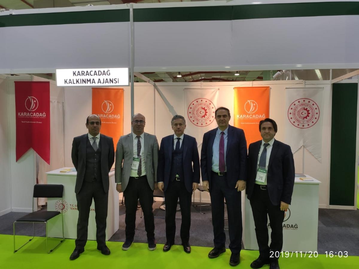 Ajansımız Öncülüğünde Diyarbakır Gıda Firmaları Erbil Agropack Fuarında